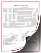 Christmas Crossword Puzzle (with answer key)