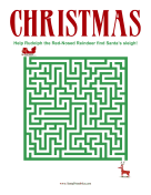 Christmas Maze Medium