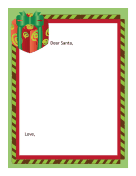 Letter to Santa Blank