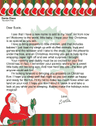 Letter from Santa for Baby's First Christmas
