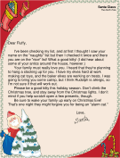 Letter from Santa to a Cat