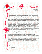 Santa Letter Child Didn&#39t Get To Sit On Lap
