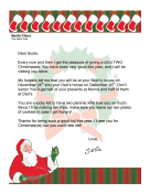 Santa Letter Divorced Parents