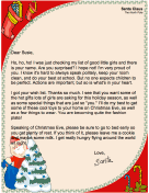 Letter from Santa to a Girl