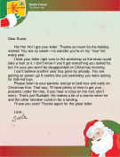 Letter from Santa to a Child who Wrote a Letter