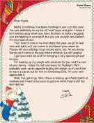 Letter from Santa to Child with Brothers and Sisters
