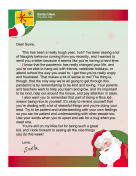 Santa Letter Naughty During Covid