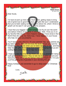 Santa Letter Parent Helpers