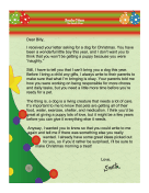 Santa Letter Reasons Against Gift
