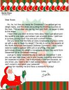Santa Letter Track On Norad