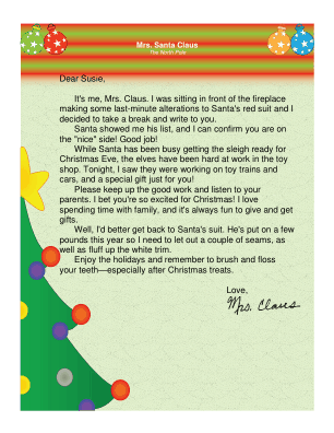 Letter from mrs claus spiritdancerdesigns