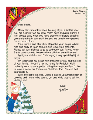 From santa to child with brothers and sisters letter from santa to child with brothers and sisters spiritdancerdesigns Gallery