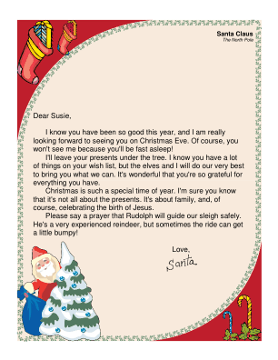Religious letter from santa spiritdancerdesigns Image collections
