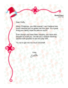 Letter From Santa To A Pet