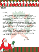 Santa letter naughty list letter from santa to a boy spiritdancerdesigns Image collections