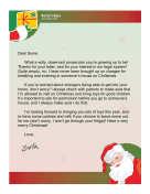 Santa Letter Breaking And Entering