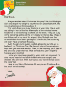 General santa letters letter from santa to an excited child spiritdancerdesigns Gallery