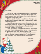 Funny santa letters for grownups joking letter from santa to a grownup spiritdancerdesigns Gallery