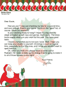 letter from santa to older child who might not believe