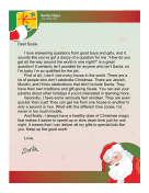 Santa Letter One Night