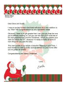 Santa Letter Parents-to-Be